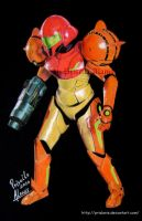 Yuki as Samus Aran by prialanis