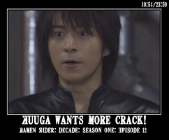 Kuuga Wants More by HystericalParoxysm09