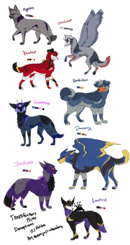 TFP Dogformers Decepticons by cherohero