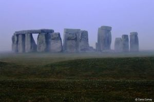 Stonehenge Sunrise by davidx76