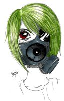 Gas Mask Re-do! by twilightwolf360