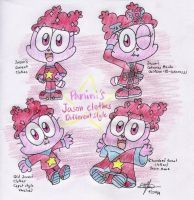 Panini's Jason clothes different styles by murumokirby360
