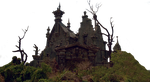 Castle Edward Scissorhands Stock PNG by Shadow-of-Nemo