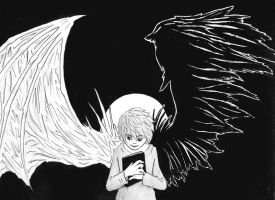 Death Note-Shinigami Wings by ShiroRyu927