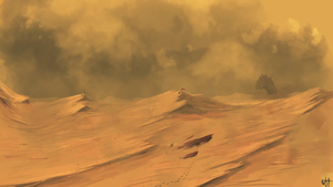 Desert Concept Art by Brony2you