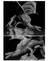 Zbrush Dragon. by dankatcher