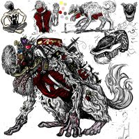 Monster design: Fool's shadow by cupil
