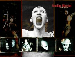 Marilyn Manson Wallpaper 5 by Ozzyhelter
