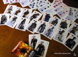 Mass Effect Playing Cards by jlel