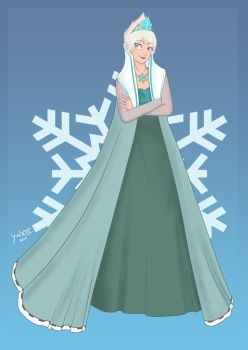 I am the REAL Ice Queen by YuaXIII