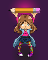 THIS IS MAH DRAWIN STICK by TheReza13