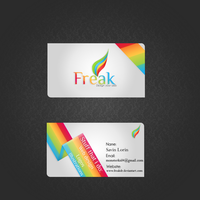 Designer Business card by FreakDr