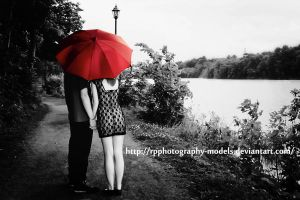 Little Red Umbrella by RadiancePhotography1