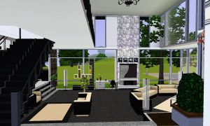 Living room int.  - Sims House by uni99