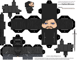 Cubee - Jon Snow by CyberDrone