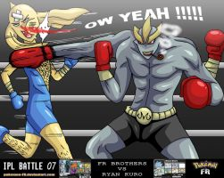 IPL'B 07 - VS Ryan Kuro by Pokemon-FR