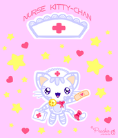Nurse Kitty-Chan by Princess-Peachie