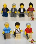 Uncharted 3: Drake's Deception LEGO Minifigs by Saber-Scorpion