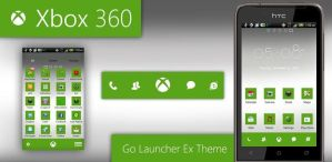 Xbox 360 Go Launcher Theme by moschdev