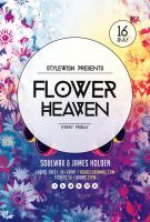 Flower Heaven Flyer by styleWish