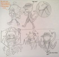 Smexy and Sherry: Slender Game o__O! by rebellion94