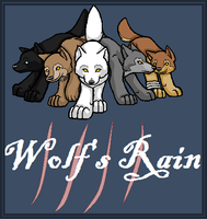 Wolfs Rain- The Wolves by GingaGirl86