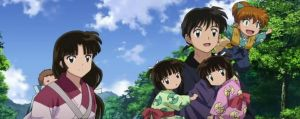 Miroku and Sango familly's by DalvaF