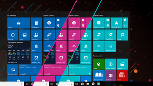 Windows 10 Custom Tiles (How to get them-no icons) by drkxleo