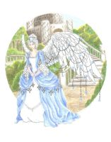 December Birthstone Angel by JessicaMDouglas