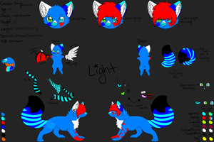 Light Reference Sheet by LightSyncHero
