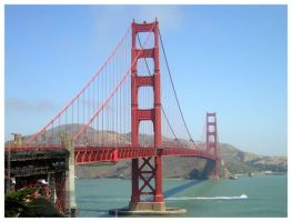 Golden Gate Bridge by green-haiku