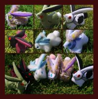 Bunnies for sale C: by IceandSnow