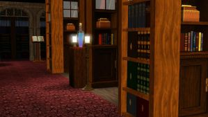 TARDIS in The Sims 3 (Library) by AnastasiyaKosenko