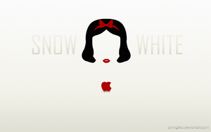 DISNEY MINIMALIST: Snow White by johngreeko