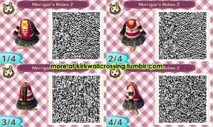 ACNL Morrigan's Robes (Dress) by meglish