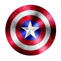 Captain America's Shield by VaderPrime1