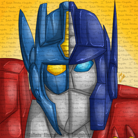 GIFT Split Continuities Optimus Prime Icon GIFT by I3-byUsagi