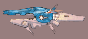 Attack Frigate Study by MShadowy