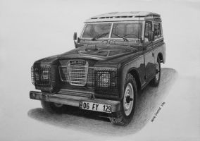 1983 Land Rover Series 3 by orhano