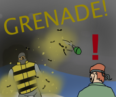 GRENADE! by falconinja
