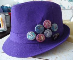 Best Fedora Decorations EVAR by Akili-Amethyst