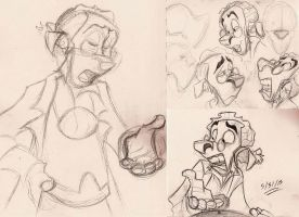 Sketches and Doodles - 10 by Mitch-el