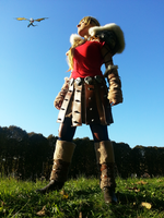 Astrid Cosplay - How to train your dragon 2 (5) by Domadraghi