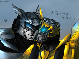 Jazz x Bumblebee by Atlas-White