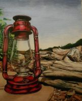 Camp light by prismacolorjessie