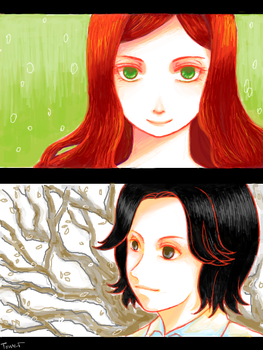 severus and lily by lauovera
