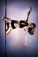 Pole Art - Kneehold II by h-e-photography