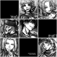 Shadow Hearts squares by maiji