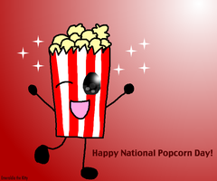 Happy National Popcorn Day by Emeraldia-the-Kitty
