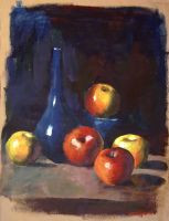 Acrylics Still Life by DHTenshi